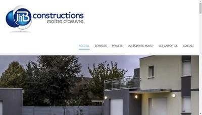 Site internet de Jhb Constructions