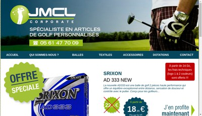 Site internet de Jmcl Corporate