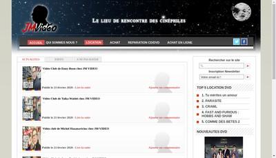 Site internet de Jm Video SARL