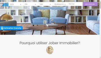 Site internet de Jober Immobilier Joberimmo Joberenovatio