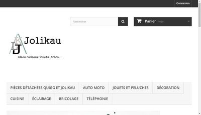 Site internet de Jolikau SARL