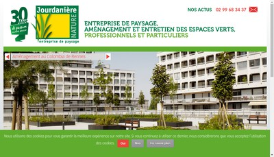 Site internet de Jourdaniere Nature SARL
