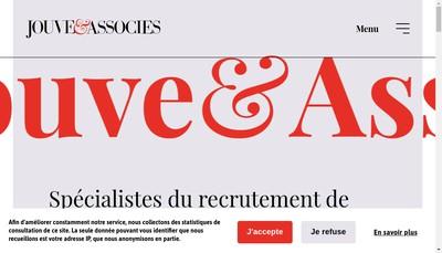 Site internet de Jouve et Associes