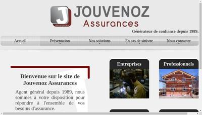 Site internet de Jouvenoz Assurances