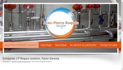 Site internet de See Jean Pierre Roques Isolation