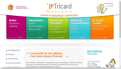 Site internet de Jean Pierre Tricard