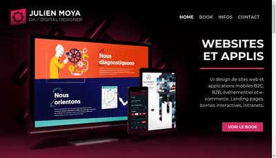 Site internet de Julien Moya