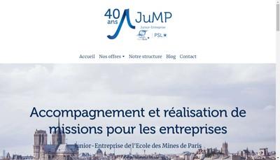 Site internet de JuMP Mines Paristech