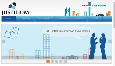 Site internet de Justilium