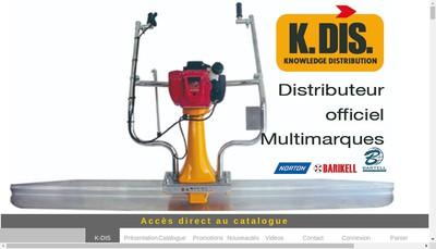 Site internet de K Dis First