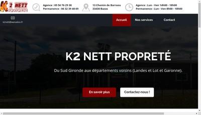 Site internet de K 2 Nett