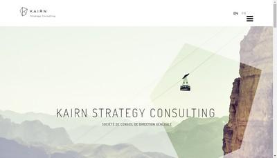 Site internet de Kairn Strategy Consulting