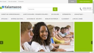 Site internet de Formsysteme Kalamazoo