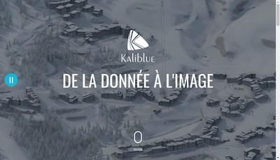 Site internet de Kaliblue