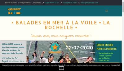 Site internet de Rivages Kapalouest