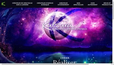 Site internet de Katsura