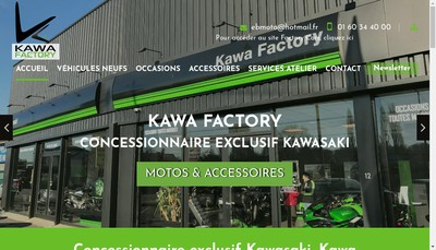 Site internet de Kawa Factory