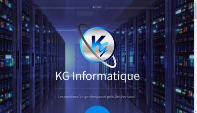 Site internet de Kg Informatique