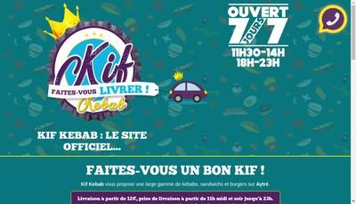 Site internet de Le Kif Kebab