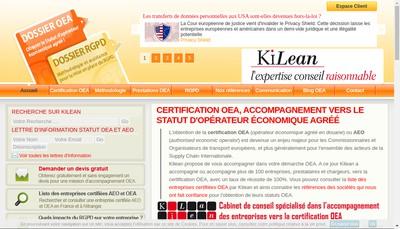 Site internet de Kiaoze