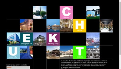 Site internet de Atelier d'Architecture King Kong Five