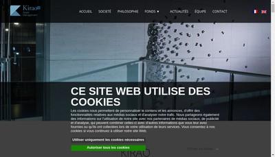 Site internet de Kirao