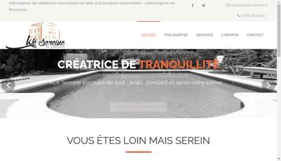 Site internet de Kle Sereine