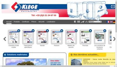 Site internet de Delcroix SAS