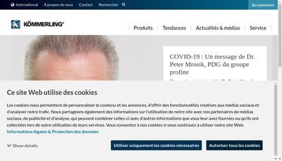 Site internet de Koemmerling