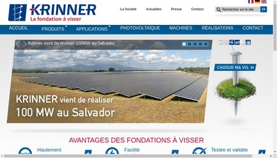 Site internet de Krinner