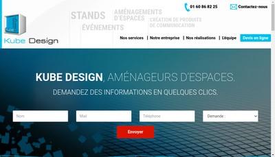 Site internet de Kube Design