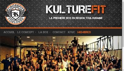 Site internet de Kulturefit Crossfit Toulouse Ii