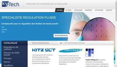 Site internet de Ky - Tech