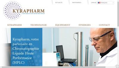Site internet de Kyrapharm