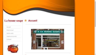 Site internet de A la Bonne Soupe