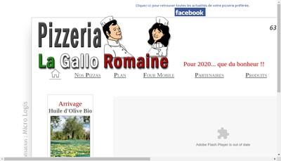 Site internet de La Gallo Romaine