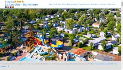 Site internet de La Loubine