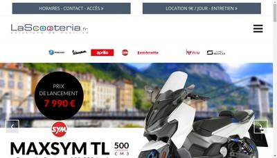 Site internet de Scooteria Piaggio