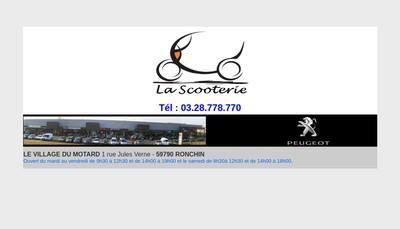 Site internet de La Scooterie