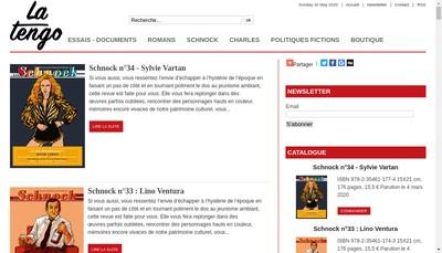 Site internet de La Tengo