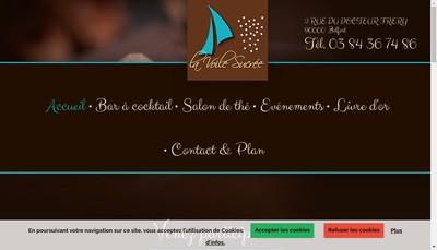 Site internet de La Voile Sucree