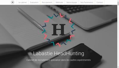 Site internet de Labastie Headhunting
