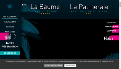 Site internet de SA la Palmeraie