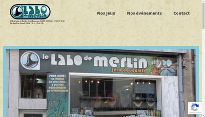 Site internet de Le Labo de Merlin