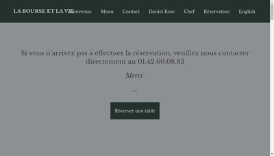 Site internet de La Bourse Ou la Vie
