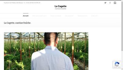 Site internet de La Cagette