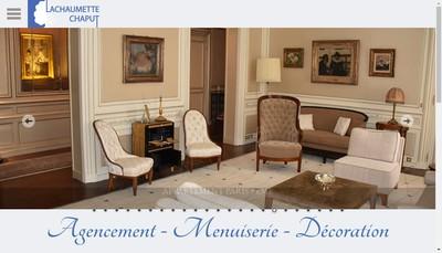 Site internet de La Chaumette Chaput