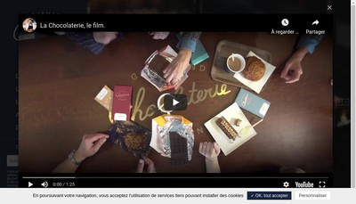 Site internet de Chocolaterie Cyril Lignac - Dragon