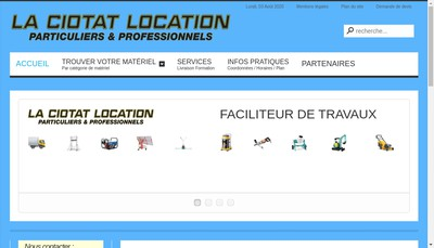 Site internet de La Ciotat Location