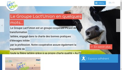 Site internet de Lactinov Abbeville